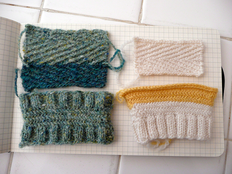 Tag Herringbone Stitch Slow Knits
