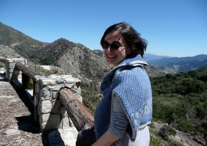 On the way to Mt. Wilson's observatory
