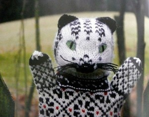 Estonian kitty puppet