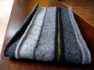 Riva, the stash buster scarf